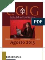 Agenda Agosto 2013