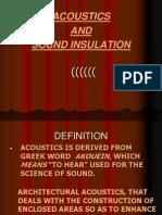 Acoustics Seminar