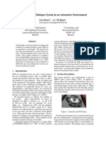 Evaluation of a Dialogue System in an Automotive Environment