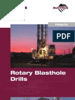 Bucyrus Rotary Blast Drills