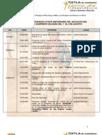 Programa de Actividades por el 231 Aniversario del Natalicio del Gral. Vicente Guerrero Saldaña
