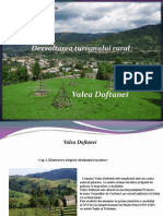 Valea Doftanei Turism