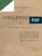 Diccionario de Chilenismos