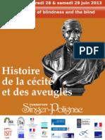 Marion Chottin - FR - La beauté des aveugles. Heuristique et représentation de la cécité chez Diderot et Herder