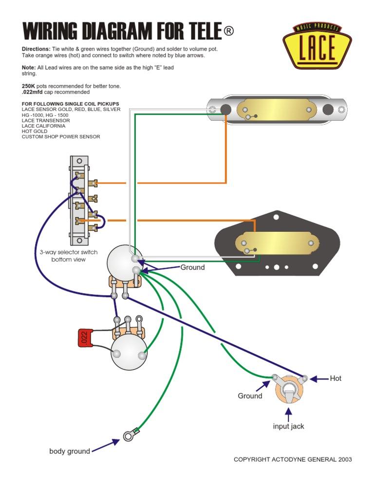 Lace Sensor Wiring Diagram