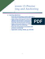 Anchoring Techs