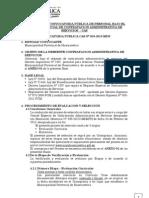 CONVOCATORIA PÚBLICA CAS Nº 005-2013-MPH