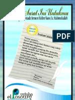 Kutitip Surat Ini Untukmu