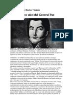 Los primeros años del General Paz