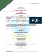 LECTIO DIVINA Domingo 3o. de Adviento - Ciclo C