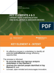 5 Key Elements 4 and 5