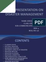 Disaster Management k.s Patel 26
