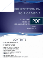 Role of Media 2012 k.s Patel 26