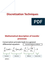 Discretization of Equation