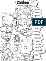 Worksheets - Clothes 1
