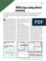 [MWEE0412] Designing RFID Tags Using Direct Antenna Matching