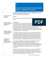Terminación sustancial de un activo calificable– NIC 23 Costos por intereses inventarios