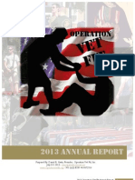 Operation Vet Fit 2013 Annual Report