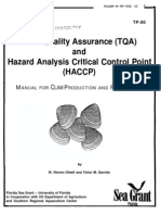TQA-HACCP Manual for Clam Production and Processing