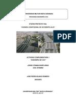 Actividad Complementaria 1.  Ing. de vias Jorge Riaño D7302002