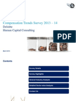 Deloitte Compensation Trends 2013