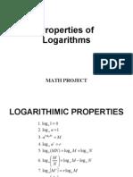 PC Logarithm Properties