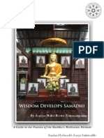 Wisdom Develops Samadhi - Daham Vila
