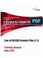 2010 MYOB Training Manual