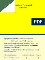 PC Grph of Polynomial f(x)