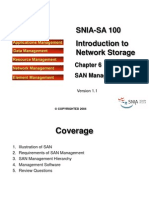 Snia-sa 100 Chapter 6 San Management (Version 1.1)
