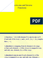 PC Inverse functions & 1 to 1