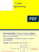 PC Linear Programming