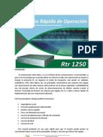 Guia Usuario RTR-1250