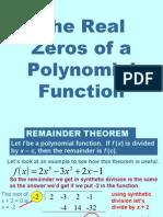 PC Polynomial Zeros