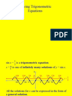 PC Solve trig Equations