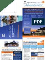 PRG Fall 2013 Advanced Course Program Mailing