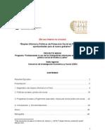 7. Empleo Informal y Políticas de Protección Social en Perú