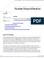 The Global Nuclear Nonproliferation Regime - Council on Foreign Relations