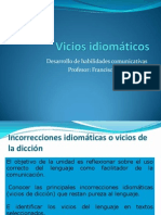 Vicios Idiomáticos1