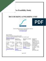 Rice Husking & Polishing Unit