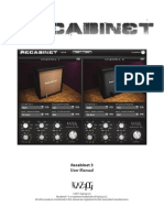 Recabinet 3 Manual