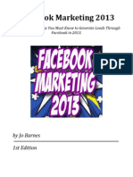 Facebook Marketing Secret 2013