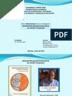 PRESENTACION DE marco metodologigo expoaición del miercoles