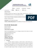 Plano Trabalho PIVIC Marina 2013