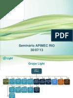 Energy Summit - APIMEC/RJ*