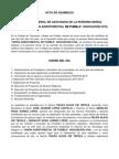 Acta Agroforestal