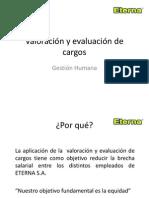 Valoración y evaluación de cargos