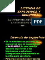 t146 Sacc Licencia Explosivos Seguridad