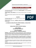 Codigo Penal DF 08072011