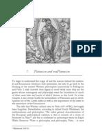 1. Platonism and Neoplatonism